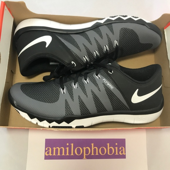 fce3ff8032905 New Men s Nike Free Trainer 5.0 V6 Size 15 Black